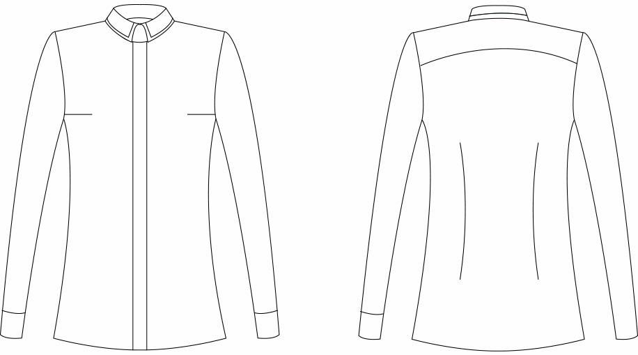 Female skjorte